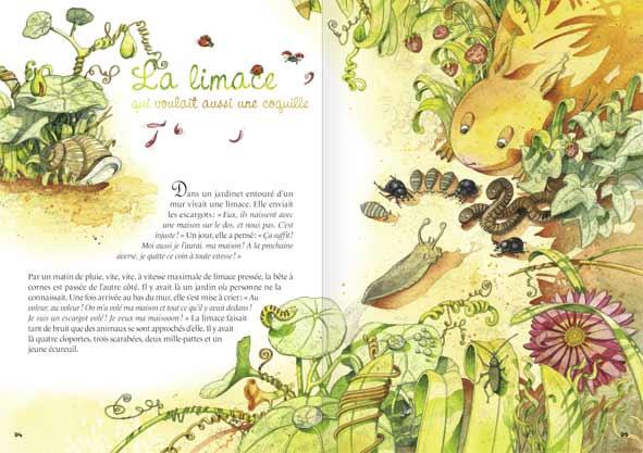 les contes nature de la petite salamandre la salamandre. Black Bedroom Furniture Sets. Home Design Ideas