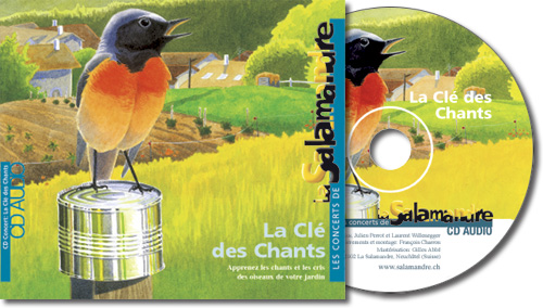 CD audio - La clé des chants