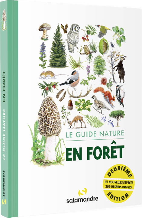 Couverture du livre Guides nature
