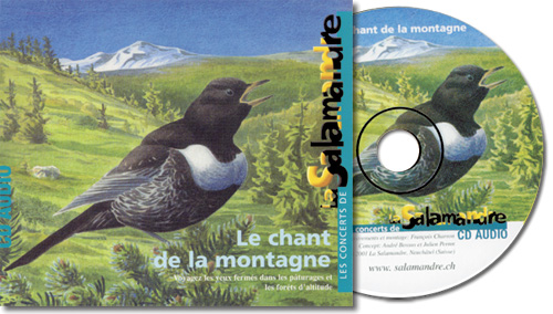 CD audio - Le chant de la montagne