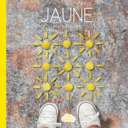 P'tit land art Jaune