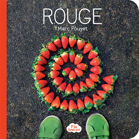 P'tit land art Rouge